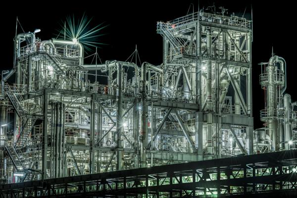 工場夜景 糸魚川