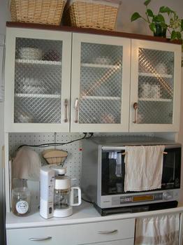 食器棚の取っ手変更