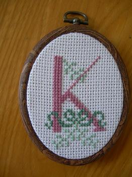 クロスステッチ(K)