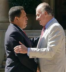 スペイン国王・チャベス和解