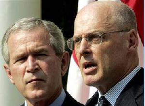 Bush & Paulson大