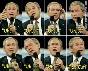 Bush taxcut