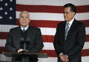 Romney & McCain