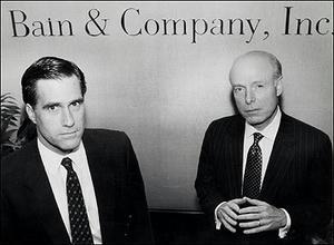 Romney & Bill Bain