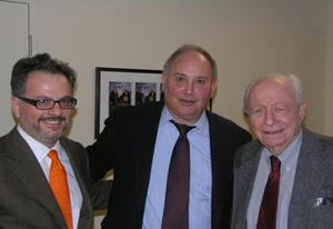 Ken Weinstein, Hillel Fradkin, and Irving Kristol