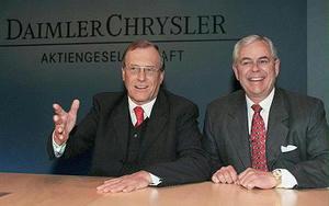 Jürgen Schrempp & Robert Eaton