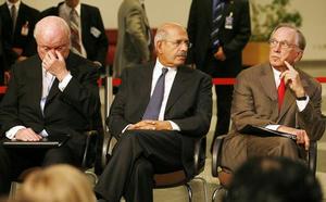 Samuel Bodman&Mohamed ElBaradei &Sam Nunn