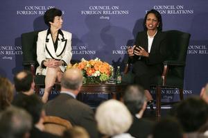 Carla Anderson Hills/Condoleezza Rice