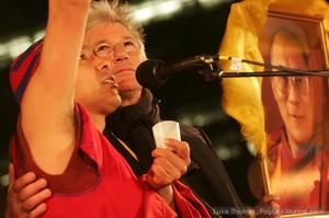 Free Tibet Priest & Gere