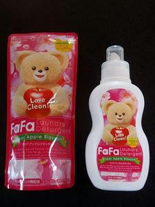 洗濯用液体洗剤FaFa