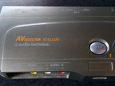 audio-technica AV Selector AT-SL33AV