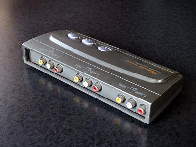 audio-technica AV Selector AT-SL33AV背面