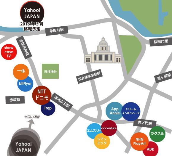 国会議事堂前界隈IT企業地図