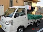 畑山塗装店の新車の軽トラ☆