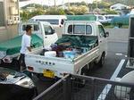畑山塗装店車(*^_^*)