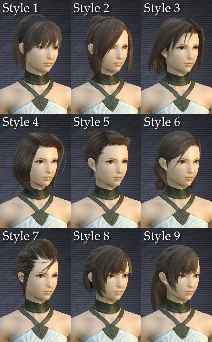ff14,髪型,一覧,男,追加