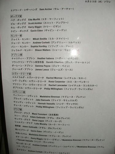 シザーハンズキャスト表