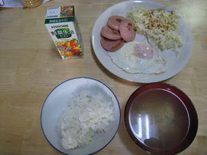 3月8日朝食