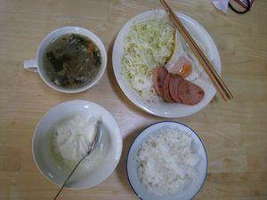 ダイエット2日目朝食