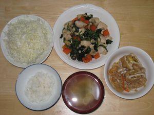 ダイエット5日目夕食