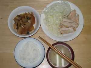 ダイエット6日目夕食