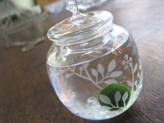 Tetto Art School・サンドブラスト小瓶