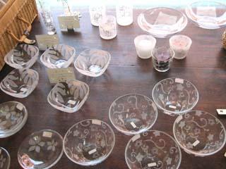 Tetto La Famiglia・サンドブラストガラス食器