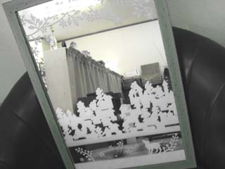 Tetto Art School・サンドブラスト鏡