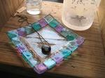 Tetto Art School・フュージングガラスの小皿