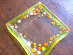 Tetto Art School・ミルフィオリの小皿