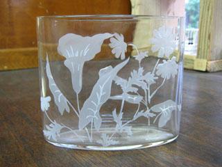 Tetto Art School・サンドブラストガラス花瓶