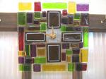 Tetto Art School・ガラスの壁掛け時計
