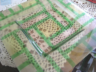 Tetto Art School・ガラスフュージング大皿