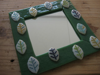 Tetto Art School・ガラスフュージング鏡