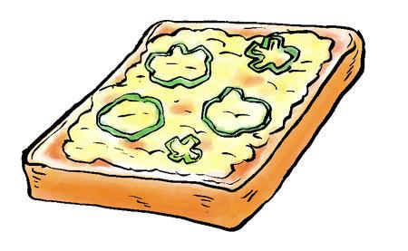 pizzaトースト