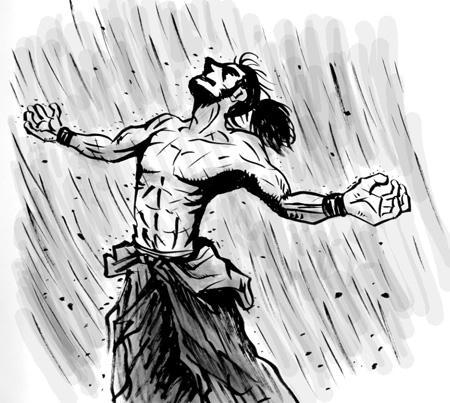 雨に〜濡れながら〜
