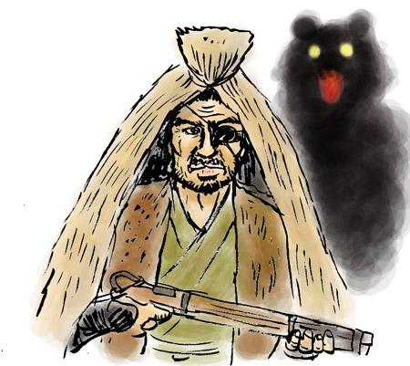 村一番の腕利き猟師だで