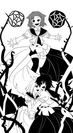 無邪気(黒)×無邪気(白)=鬼畜(灰)
