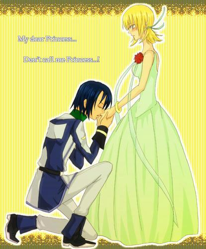 『准将とお姫様』