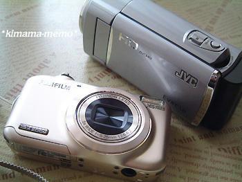 デジカメとビデオカメラ♪