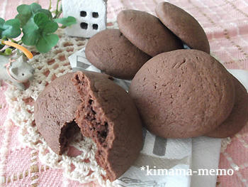 ココアクッキー。
