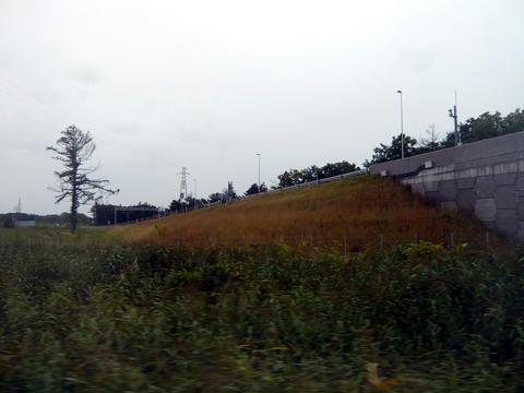 宗谷本線を跨ぐ幌富バイパス