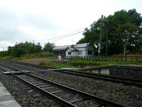 兜沼駅の鉄道施設