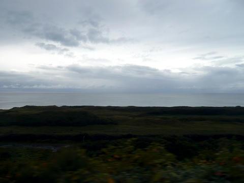 道道106号と日本海