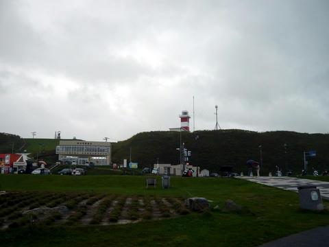 宗谷岬公園の風景1・宗谷岬灯台