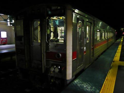 名寄駅に到着したキハ54