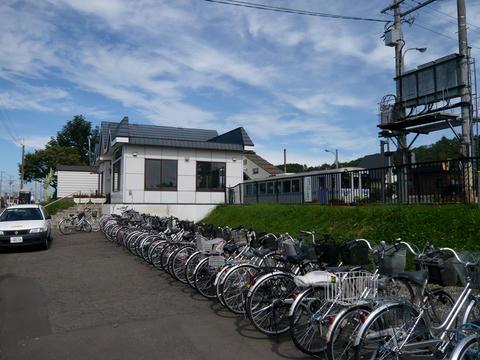 JR富良野線西神楽駅