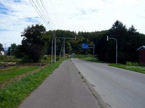 国道237号から道道213号への抜け道