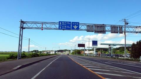 国道40号@士別市