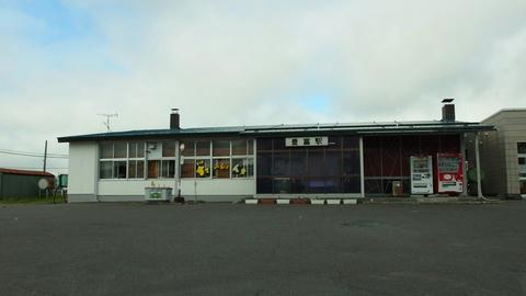 JR豊富駅駅舎